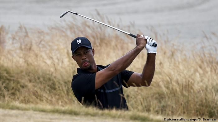 Tiger Woods at the 2015 US Open