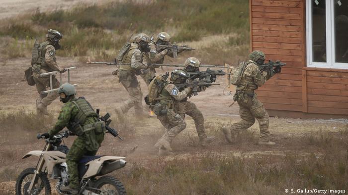 Під час військових навчань у Польщі