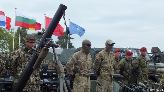 Учения НАТО в Польше, апрель 2015 года