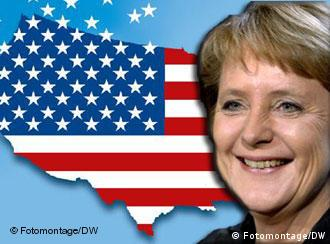 Many Americans are curious about Germany's new chancellor, Angela Merkel
