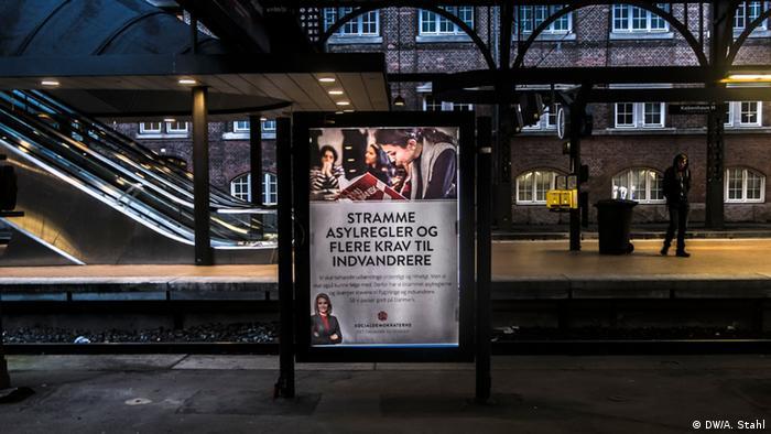 Dänemark Kopenhagen Flüchtlings- und Asylpolitik
