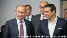 St. Petersburg SPIEF 2015 Tsipras Putin