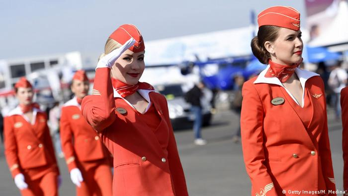 Aeroflot stewardesses