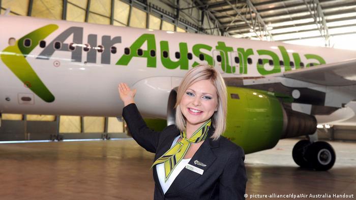 Стюардесса авиакомпании Air Australia