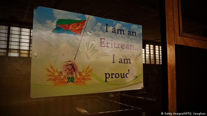 Eritrea Asmara Poster Patriotismus