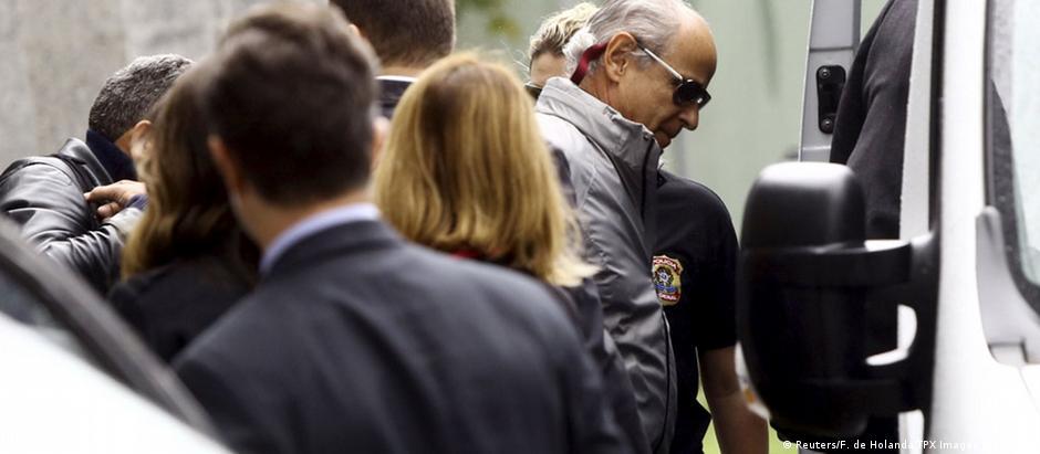 Otávio Marques de Azevedo, presidente da Andrade Gutierrez, está preso desde junho