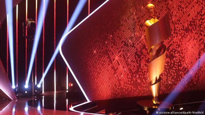Bühne bei der Verleihung des Deutschen Filmpreises Lola