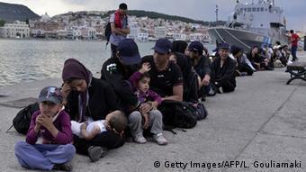 Afghanische Flüchtlinge in Griechenland