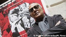 Iranian filmmaker Abbas Kiarostami, during an interview wih Spanish press agency Agencia EFE in Barcelona, northeastern Spain, 26 February 2015. EFE/Marta Perez