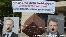 Demonstration vor Parteikonvent der SPD