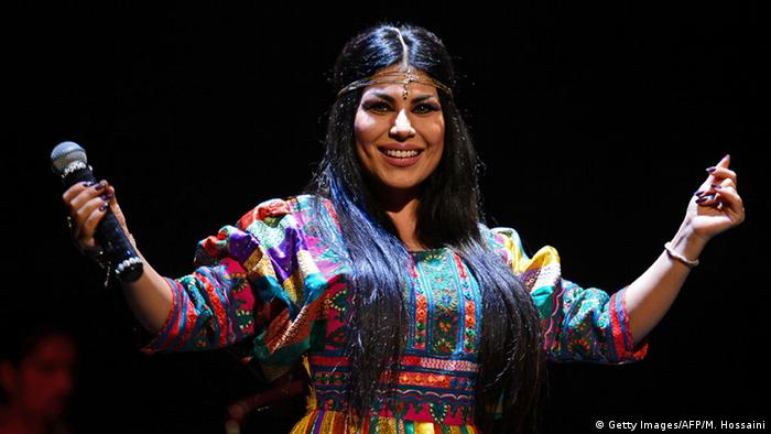 Why is singer Aryana Sayeed seen as a threat to Afghan