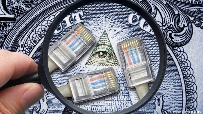 Symbolbild NSA-Abhörskandal und Selektorenliste