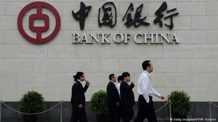 Bank China (Getty Images/AFP/M. Ralston)