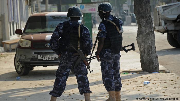 Somalia Mogadischu Sicherheitskräfte