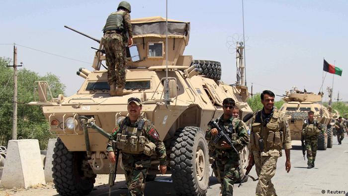 Afghanistan Kunduz Streitkräfte (Foto: Reuters)