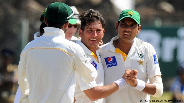 Sri Lanka Cricket Yasir Shah (I. S. Kodikara/AFP/Getty Images)