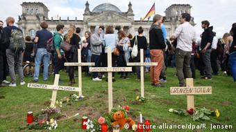 Aktion Marsch der Entschlossenen in Berlin