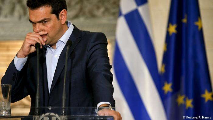 Alexis Tsipras in Brüssel, 17.06.2015 (Foto: Reuters)