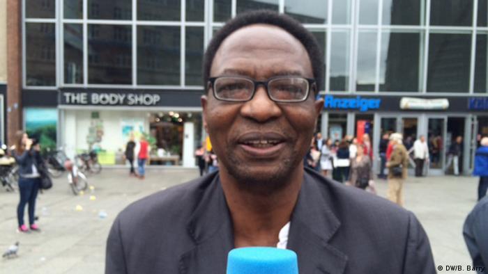 Leonard Nyangoma, leader of Burundian opposition alliance CNARED
