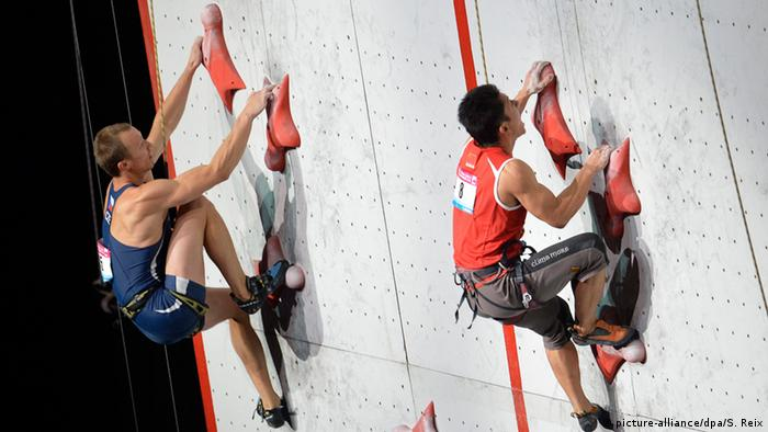 Climbing world championship in Paris 2012