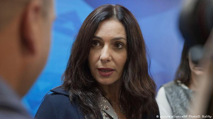 Miri Regev, Minister of Culture. Copyright: Dan Balilty/Pool photo via AP