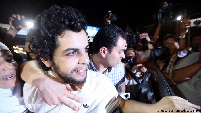 Bildergalerie Al Jazeera Journalisten in Haft Abdullah Elshamy