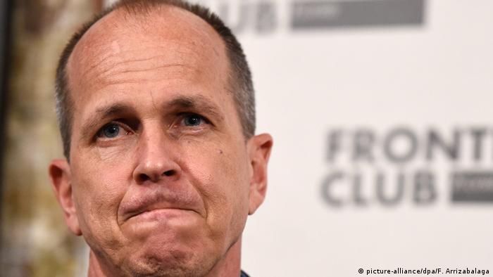 Bildergalerie Al Jazeera Journalisten in Haft Peter Greste
