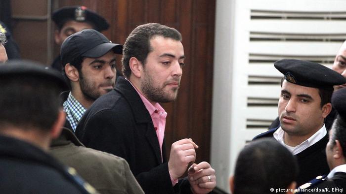 Bildergalerie Al Jazeera Journalisten in Haft Baher Mahmoud