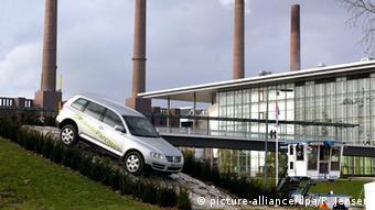 Volkswagen Touareg VW-Autostadt in Wolfsburg