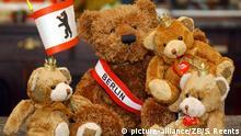 Берлінські ведмеді у сувенірному магазині