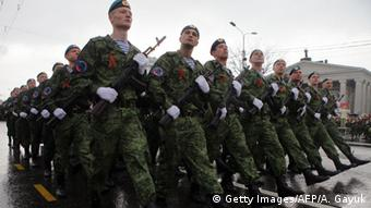 Ostukraine Donezk Pro-Russische Separatisten Soldaten Kämpfer