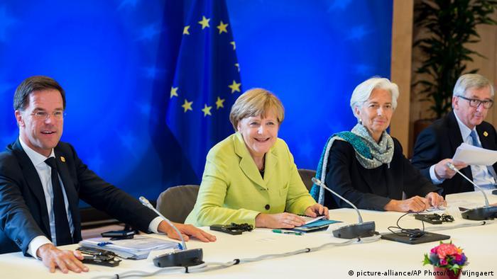 Brüssel Sondergipfel zum griechischen Schuldenstreit