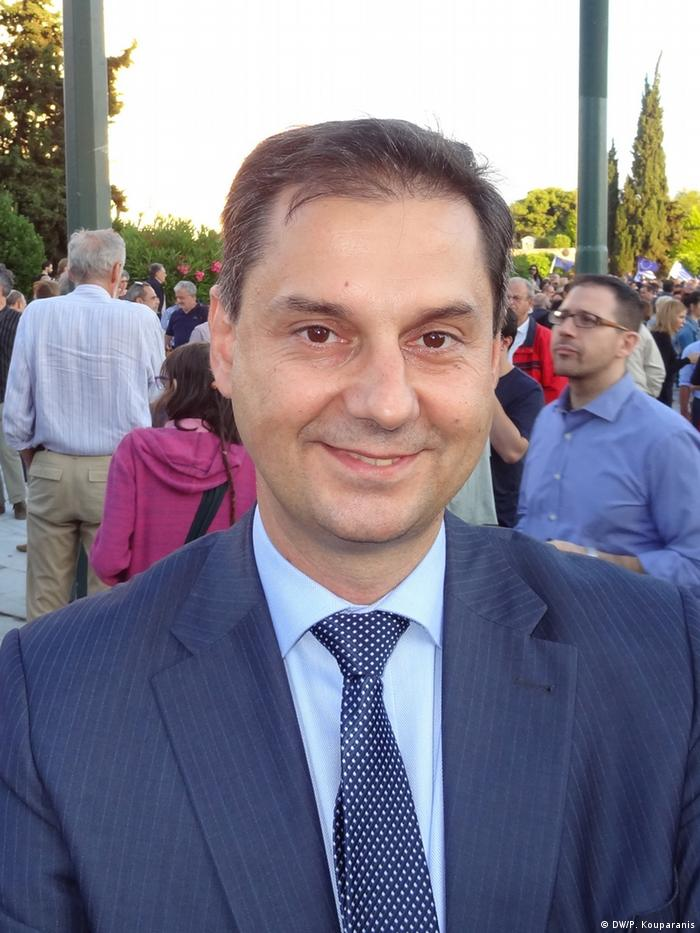 Griechenland Pro-europäische Kundgebung - Charis Theocharis
