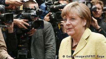 Belgien Angela Merkel Krisengipfel Eurogruppe Griechenland in Brüssel