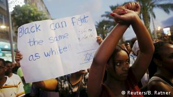 Israel Festnahmen bei Demonstration äthiopischstämmiger Israelis