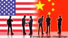 Symbolfoto Handelsbeziehungen zwischen USA und China