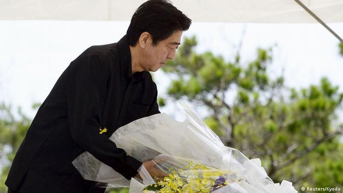 Japan 70. Jahrestag Schlacht von Okinawa