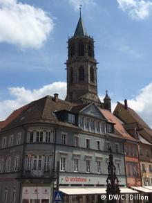 A tower in Rottweil, Germany.