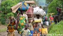 Kongo Flüchtlinge