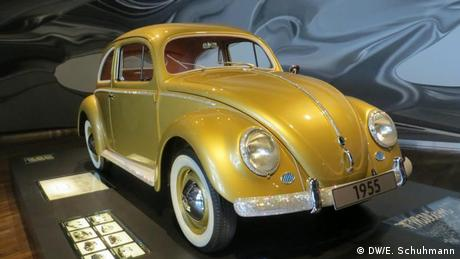 VW created this golden edition to mark the first million sold