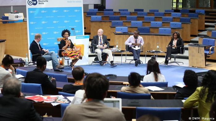 GMF 2015 Afric@online Empowerment or exploitation? (Foto: DW)