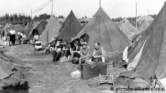 Тимчасовий табір біженців біля Ганновера