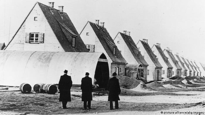 Deutschland Flüchtlinge Nachkriegszeit Nissenhütten