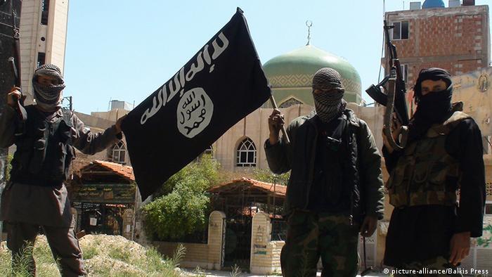 Боевики ИГ в Сирии, фото из архива