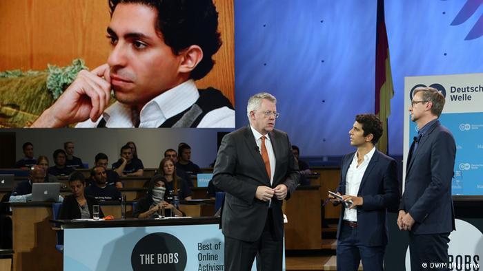 Раиф Бадави стал победителем международного конкурса The Bobs – Best of Online Activism