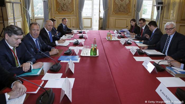 Зустріч глав МЗС нормандської четвірки у Парижі