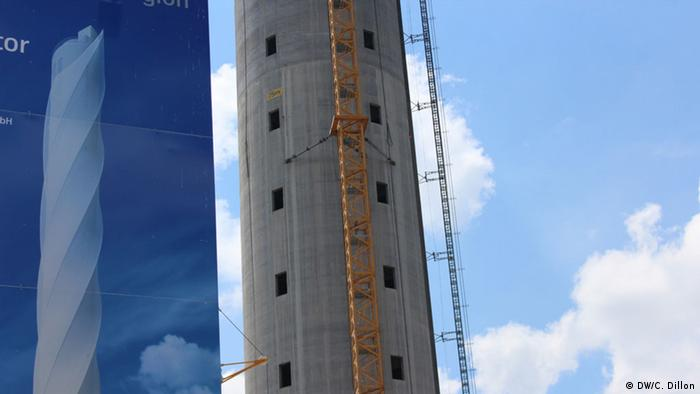 World′s tallest elevator tower rises in Rottweil, Germany
