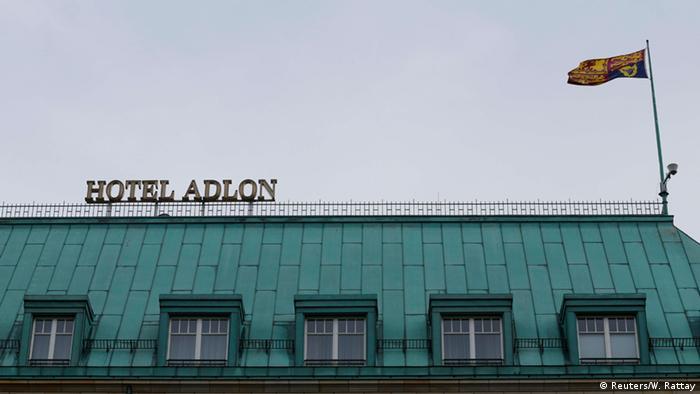 Deutschland Queen in Berlin Hotel Adlon