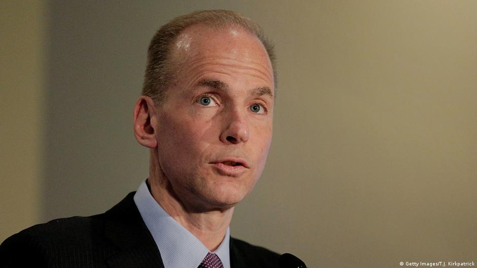 USA Dennis Muilenburg Boeing CEO