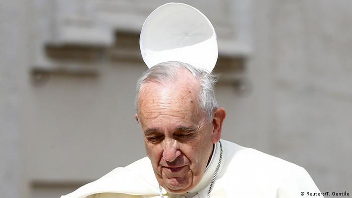 Líder de las FARC pidió perdón al Papa